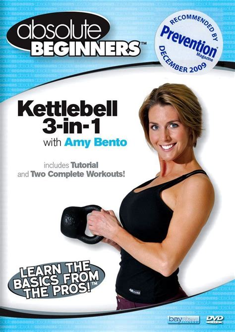 kettlebell beginners absolute amy angie bento dvds fitness miller training workout seniors dance ross phil cardio interval strength prevention magazine
