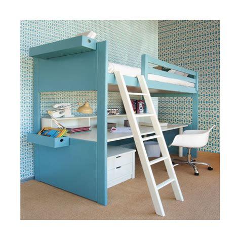 lit avec bureau lit mezzanine avec bureau liso loft signé asoral