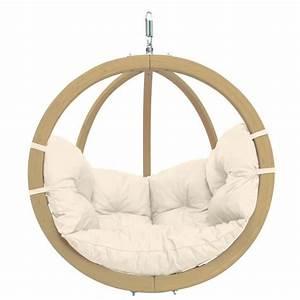 Fauteuil Jardin Suspendu : fauteuil suspendu globo chair natura 121x118x69cm amazonas ~ Teatrodelosmanantiales.com Idées de Décoration