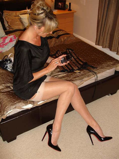 Sexy Blonde Milf In Stockings Porn Pic Eporner