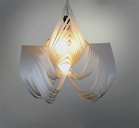 beautiful pendant l shade that made of a paper home