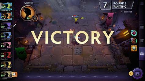 dota underlords steam gameplay youtube