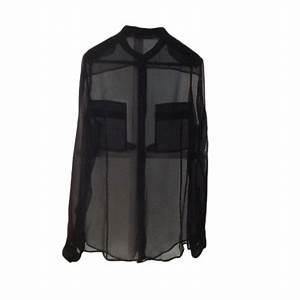 Chemise Yves Saint Laurent : chemise yves saint laurent 40 l t3 noir vendu par ~ Nature-et-papiers.com Idées de Décoration
