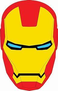 iron man face iron man and avengers pinterest With iron man face mask template