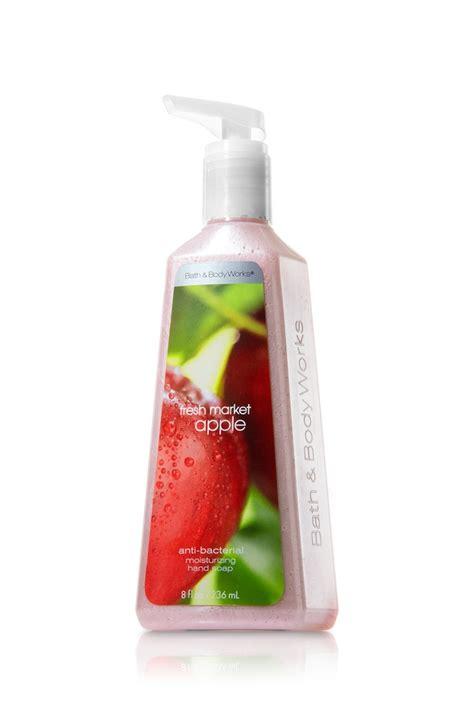bath body works fresh market apple anti bacterial