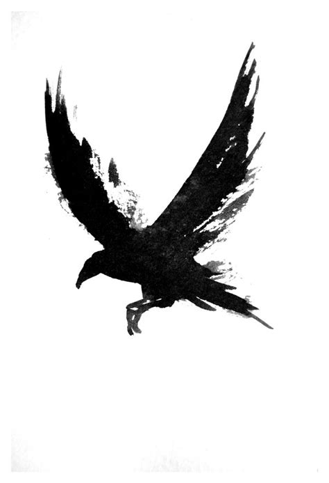tattoos expert: Crow Tattoos Designs and Meaning