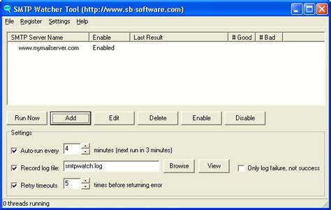 smtp watcher 1 0 review and