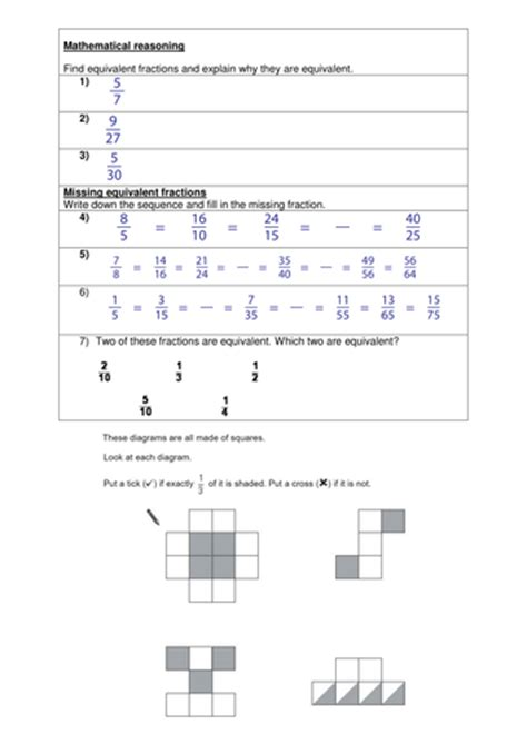 ks2 equivalent fractions year 4 5 6 by trabzonunal