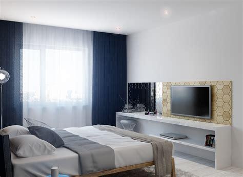 Tv In Bedroom Design Ideas by Bedroom Television Interior Design Ideas