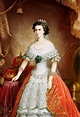 Elizabeth, Empress of Austria (1837–1898).   Portrét ...