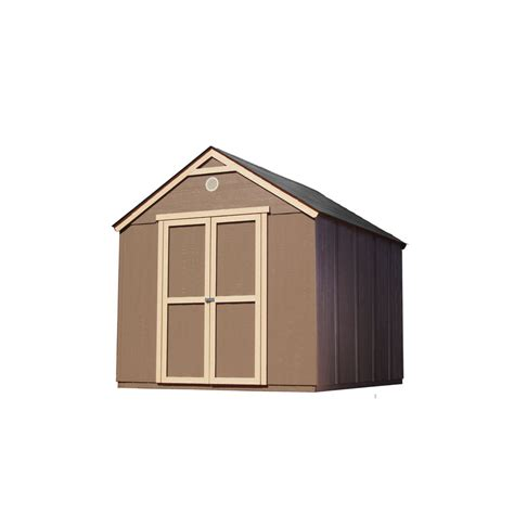 heartland storage shed kits shop heartland diy 8 x 10 kwik shed storage building at