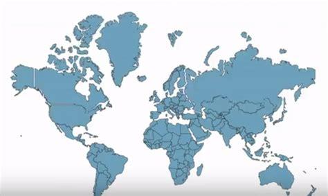 Kako kontinenti zapravo izgledaju?