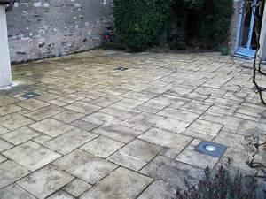 nettoyage terrasse produit nettoyage terrasse traitement With nettoyer carrelage terrasse