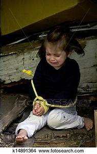 Stock Photo of Human Trafficking of Children - Concept ...