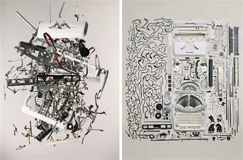 reverse engineered art  ocd style deconstructions