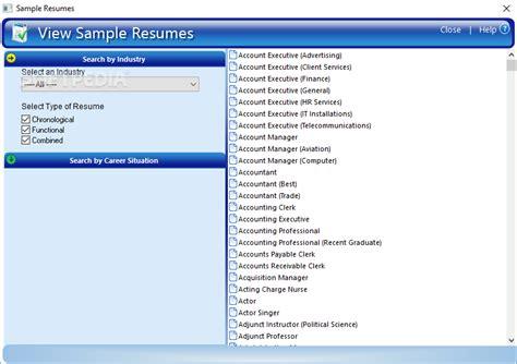 resumemaker professional