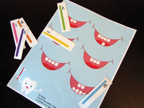 bitsycreations free preschool tooth counting printable 415 | IMG 6972