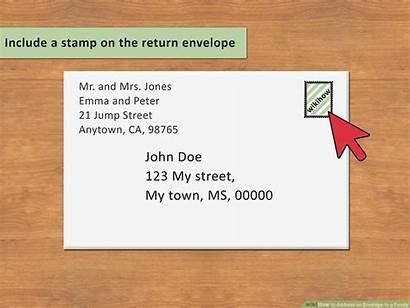 Envelope Address Write Letter Wikihow Writing Addressing