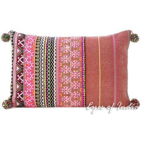 Colorful Sofa Pillows by Burgundy Pink Striped Colorful Decorative Sofa Throw