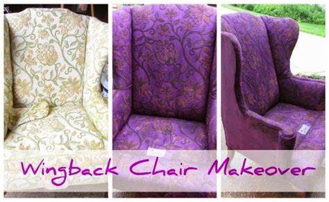 wingback chair makeover decorating tips tools chair