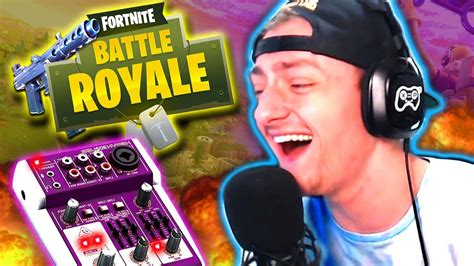 fortnite voice changer trolling funny reactions youtube