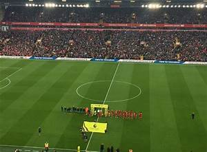View from the Main Stand – Liverpool 3–0 Southampton
