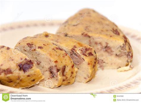 cuisine slovaque spécialité de plnjenjina de cuisine slovaque photo stock