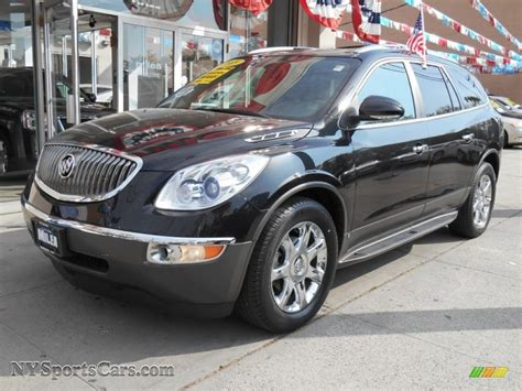 buick enclave cxl awd  carbon black metallic