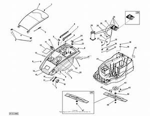 Dr Power Em6 2  Battery Powered Lawn Mower Parts Diagram For Housing