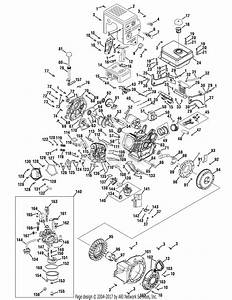 Mtd 31ah55lh704  2009  Parts Diagram For Engine Assembly