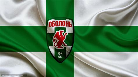 Download wallpaper flag, Football Club, Obolon free ...