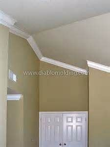 crown molding  good   home  vaulted