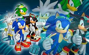 Best HD Sonic Shadow Silver And Jet Sfr Wallpaper By ...