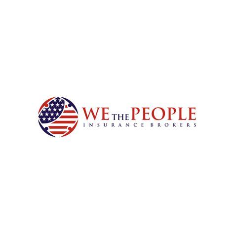 create  patriotic logo  insurance brokerage serving