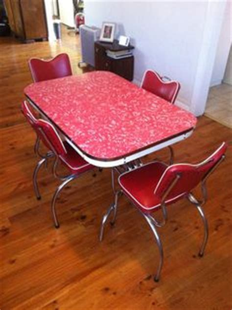 1000  images about 1950s 60 dining settings   red on
