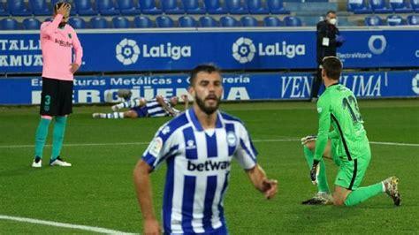 Con Lionel Messi, Barcelona igualó 1-1 con Alavés por la ...