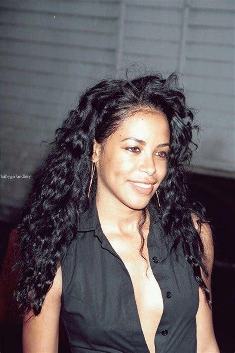 aaliyah curly hairstyles hair