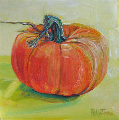 painting a pumpkin small wonders daily paintings by polly jones pumpkin painting giveaway