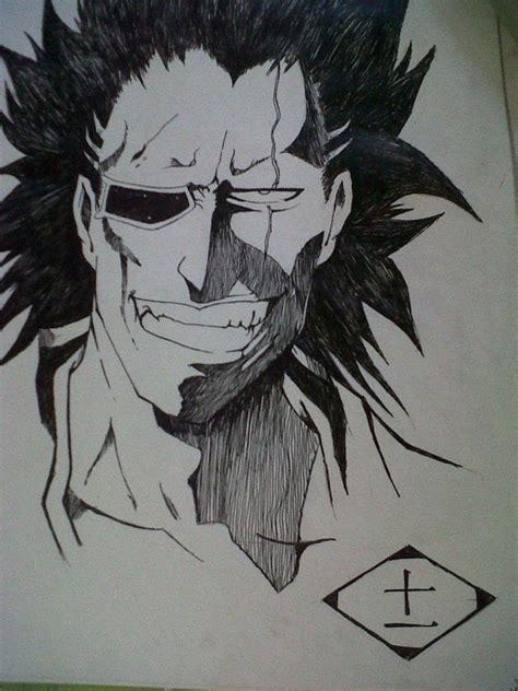 zaraki kenpachi  drawing art  drawing  cut