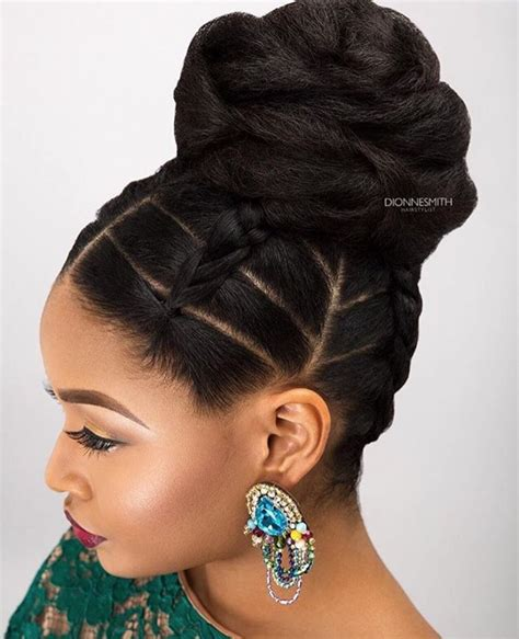 Updo Hairstyles For Black Wedding by Wedding Hairstyles For Black American