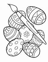 Easter Egg Coloring Pages Grown Ups Advanced sketch template
