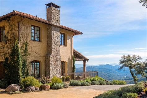 Mediterranean Kitchen Ideas - breathtaking tuscan inspired vacation villa in napa valley