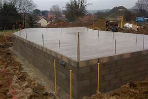 epaisseur dalle beton pour garage 14 cave ou vide With epaisseur dalle beton pour garage