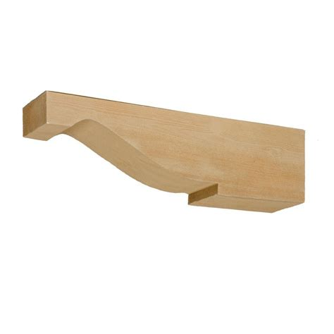 Fypon Corbels by Fypon 5 1 2 In X 24 In X 6 1 2 In Polyurethane Timber
