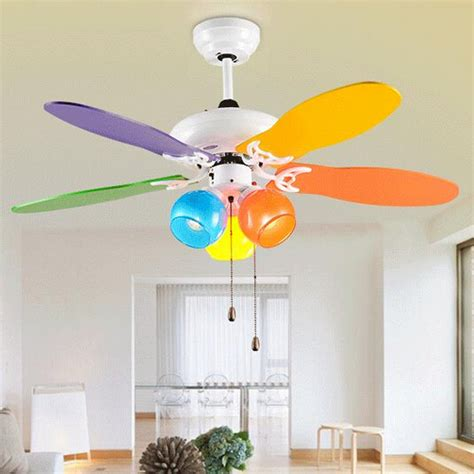 Lovely Kids Ceiling Fan Colours Modern Ceiling Fan For