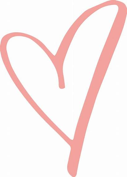 Heart Transparent Clipart Rustic Hearts Outline Clip