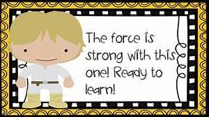 Star Wars Behavior Chart By Aloha Elementary Teachers