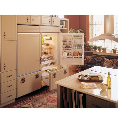 zicnxlh ge monogram  built  bottom freezer refrigerator monogram appliances