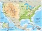 Road Map of United States of America - Ezilon Maps