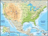 Road Map of United States of America - Ezilon Maps